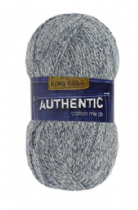 King Cole Authentic Cotton Mix DK 100g  - OUR PRICE £4.25